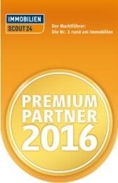 Immobilien Scout24 Premium Partner 2016